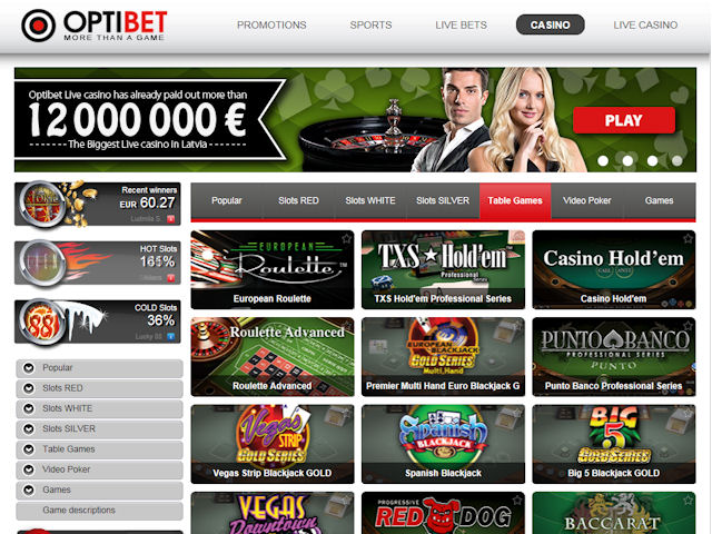 Optibet screenshot 1